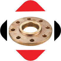 Cupro Nickel 90/10 Ring Type Joint Flanges