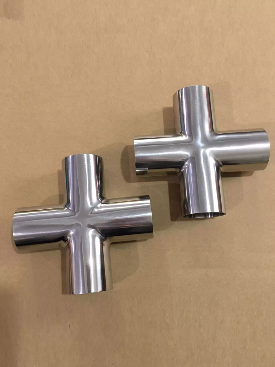 Stainless Steel Buttweld Reducing Cross